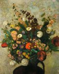 odilon redon bouquet of flowers v painting-28520