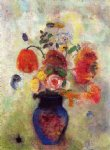 odilon redon bouquet of flowers painting-28521