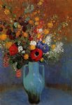odilon redon bouquet of wild flowers ii painting-28522