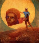 figure by odilon redon art
