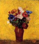 odilon redon flowers ii painting-28562