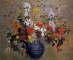 flowers iv by odilon redon art