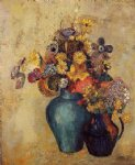 flowers vi by odilon redon art