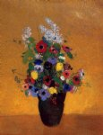 flowers vii by odilon redon art