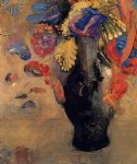 flowers by odilon redon art