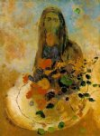 mystery by odilon redon watercolor paintings