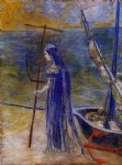 odilon redon the fisherwoman prints