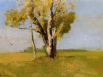 odilon redon trees painting 28699