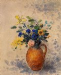 odilon redon vase of flowers iii painting