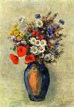 odilon redon vase of flowers iv painting