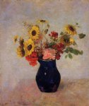 odilon redon vase of flowers ix painting