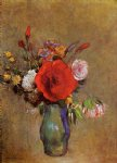 odilon redon vase of flowers vi painting
