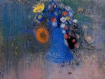 odilon redon vase of flowers xiii painting 28720