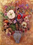 odilon redon vase of flowers xiv painting 28721