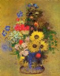 odilon redon vase of flowers xvii painting 28724