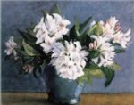 original a bunch of white flowers in a vase by original paintings painting