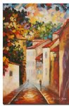 street original paintings - a narrow street by original paintings