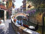 original paintings famous paintings - a small town by the river by original paintings