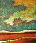 landscape original paintings - abstract landscape by original paintings