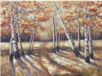 forest original paintings - autumn forest by original paintings