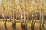 original paintings original paintings - autumn woods by original paintings