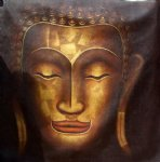 original buddhist statue 2 by original paintings