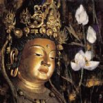 original paintings famous paintings - buddhist statue 4 by original paintings