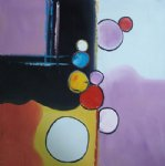 colorful original paintings - colorful circles by original paintings
