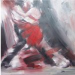 original paintings original paintings - dancing man and woman 1 by original paintings