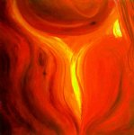 flame by original paintings painting