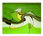 original paintings modern abstract 2 paintings