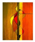 original paintings modern abstract 3 paintings