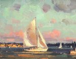 original sailing boat by original paintings
