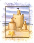 original sandcastle and pentagram by original paintings