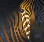 zebra by original paintings painting