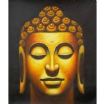 bronze buddha by original paintings