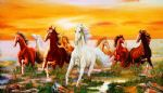 horses 4 by original paintings