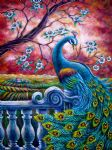 the peacocks 2 by original paintings