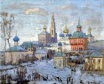 original   winter russia 1 painting