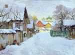 original   winter russia 29 painting