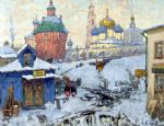 original   winter russia 3 painting