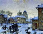 winter russia 4 by original Painting