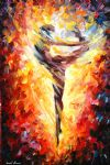 abstract ballet dancer 3 by original paintings
