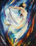 original angel of love dancer painting