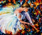 original ballerina abstract dancer 1 art
