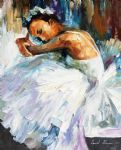 original ballerina abstract dancer 2 art