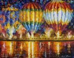 balloon reflections 3 by original paintings