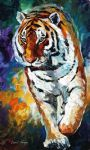 bengal tiger by original painting