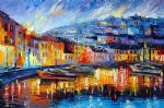 blue harbor by original paintings