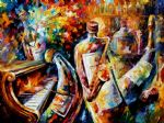 bottle jazz music by original paintings